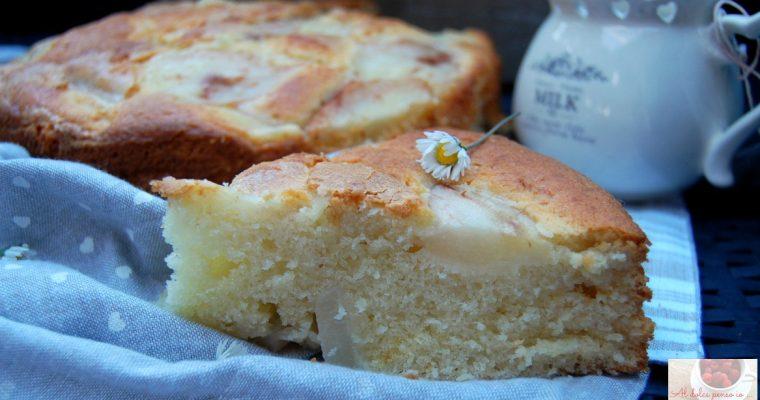 torta alle pere e mascarpone