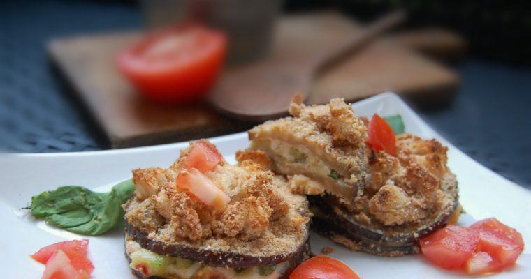 sandwich di melanzane e zucchine