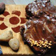 mattonella pere e cioccolato