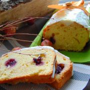 plumcake yogurt e mirtilli