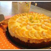 torta di ricotta ai mandarini