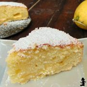 torta al triplo limone