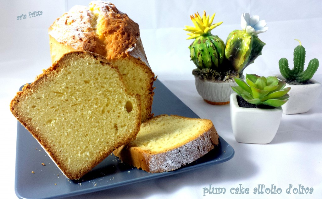 plum cake all'olio d'oliva 1