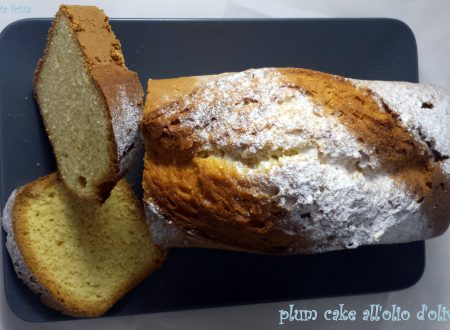plum cake all'olio d'oliva