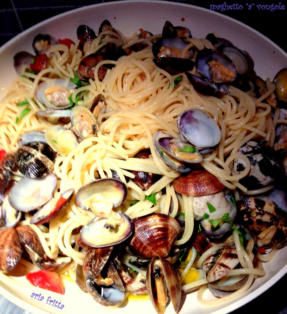 spaghetto a vongole 1