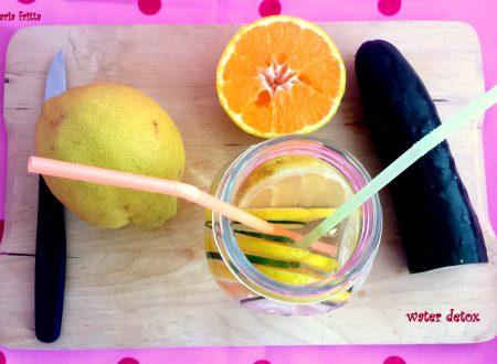 acqua disintossicante – water detox