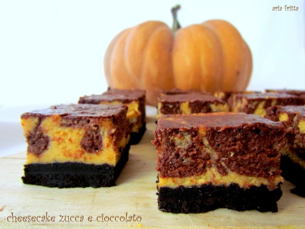 cheesecake zucca e cioccolato 2