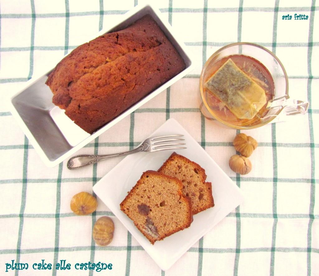 plum cake alle castagne 1