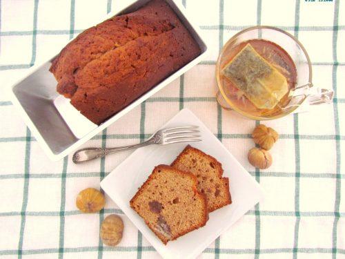 plum cake alle castagne