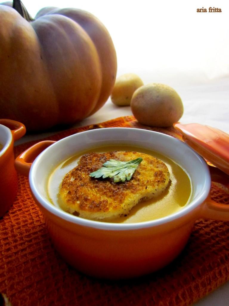 pumpkin and potato soup 2