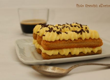 finto tiramisù all'orzo – ricetta alternativa