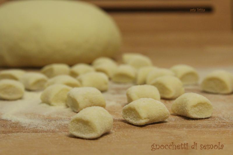 gnocchetti di semola