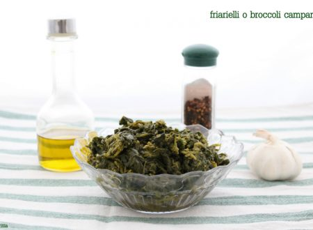 friarielli o broccoli campani