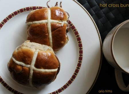 hot cross buns – pane dolce pasquale