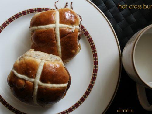 hot cross buns – pane dolce pasquale