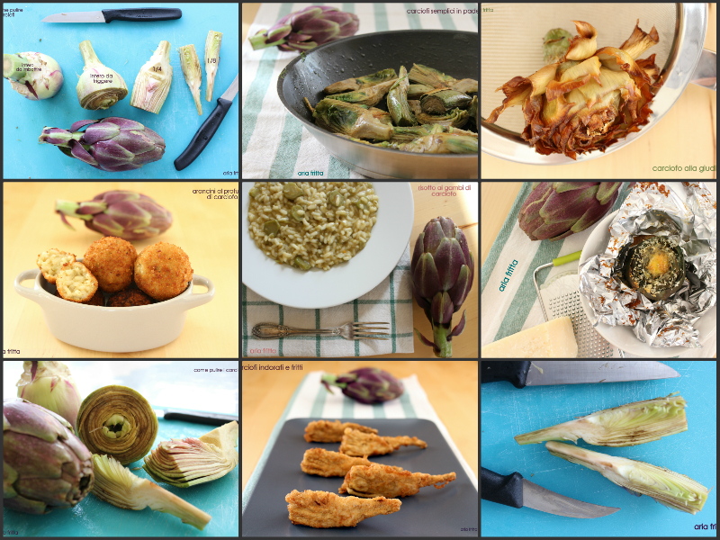 ricette carciofi