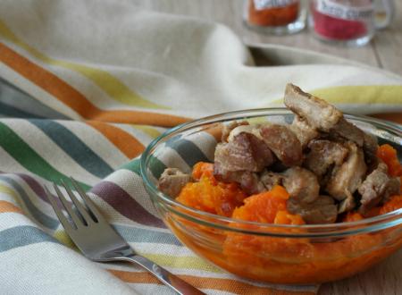 curry di zucca e tacchino – secondo piatto o piatto unico
