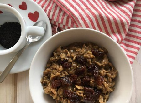 porridge al caffè – colazione completa e bilanciata