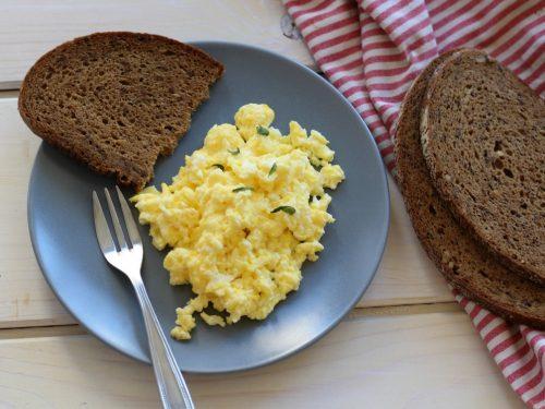 uova strapazzate light – con gusto ma col trucco