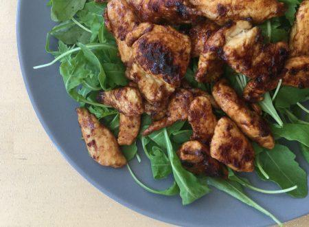 pollo alla salsa di soia con miele e zenzero – light e veloce