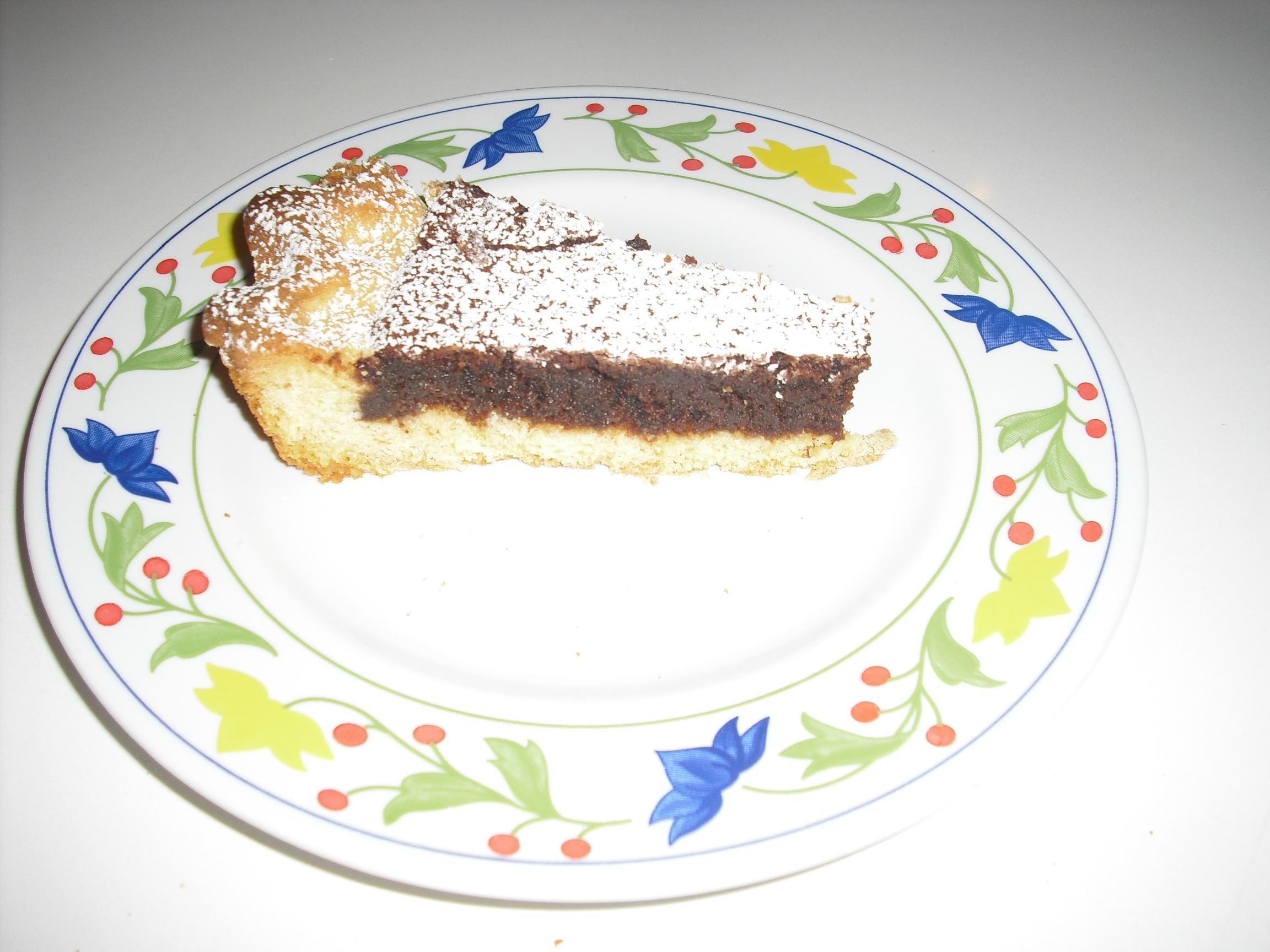 Torta Barozzi (crostata cioccolatosa!)