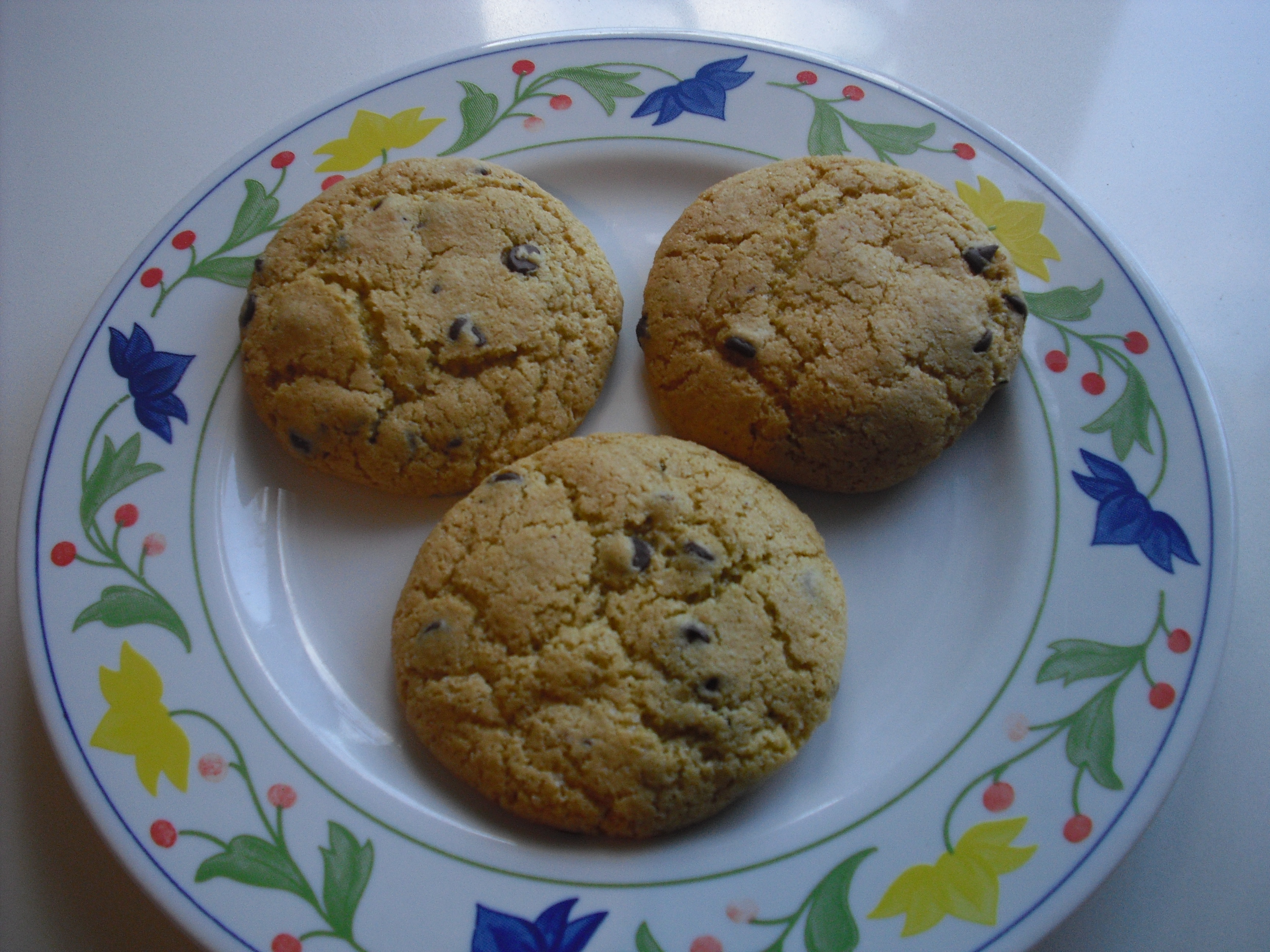 Chocolate chip cookies all'olio!!!