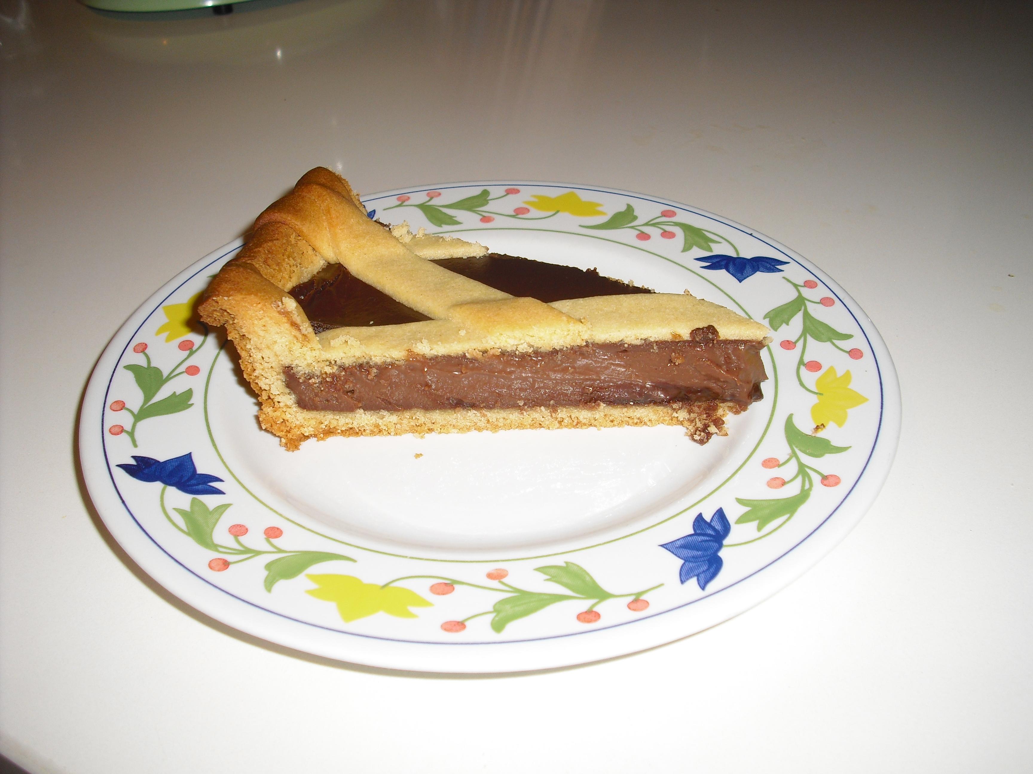 Crostata al cioccolato supercremosa!!
