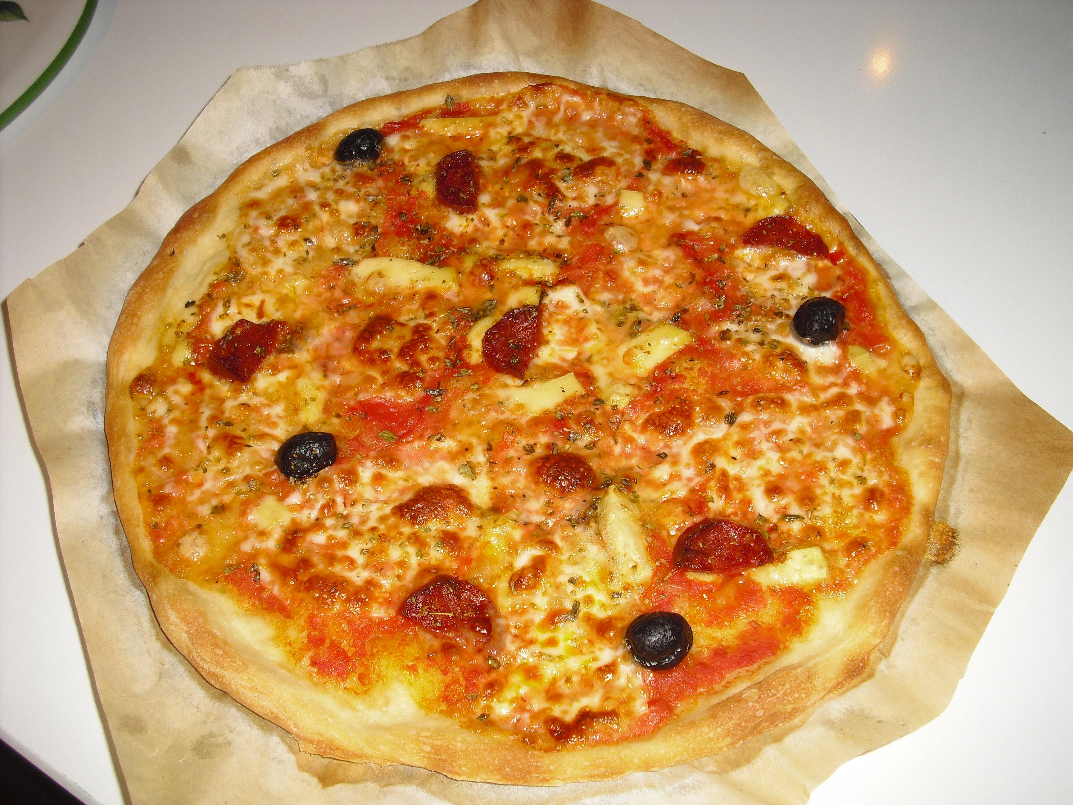 La pizza senza impasto (o delle 19 ore…)