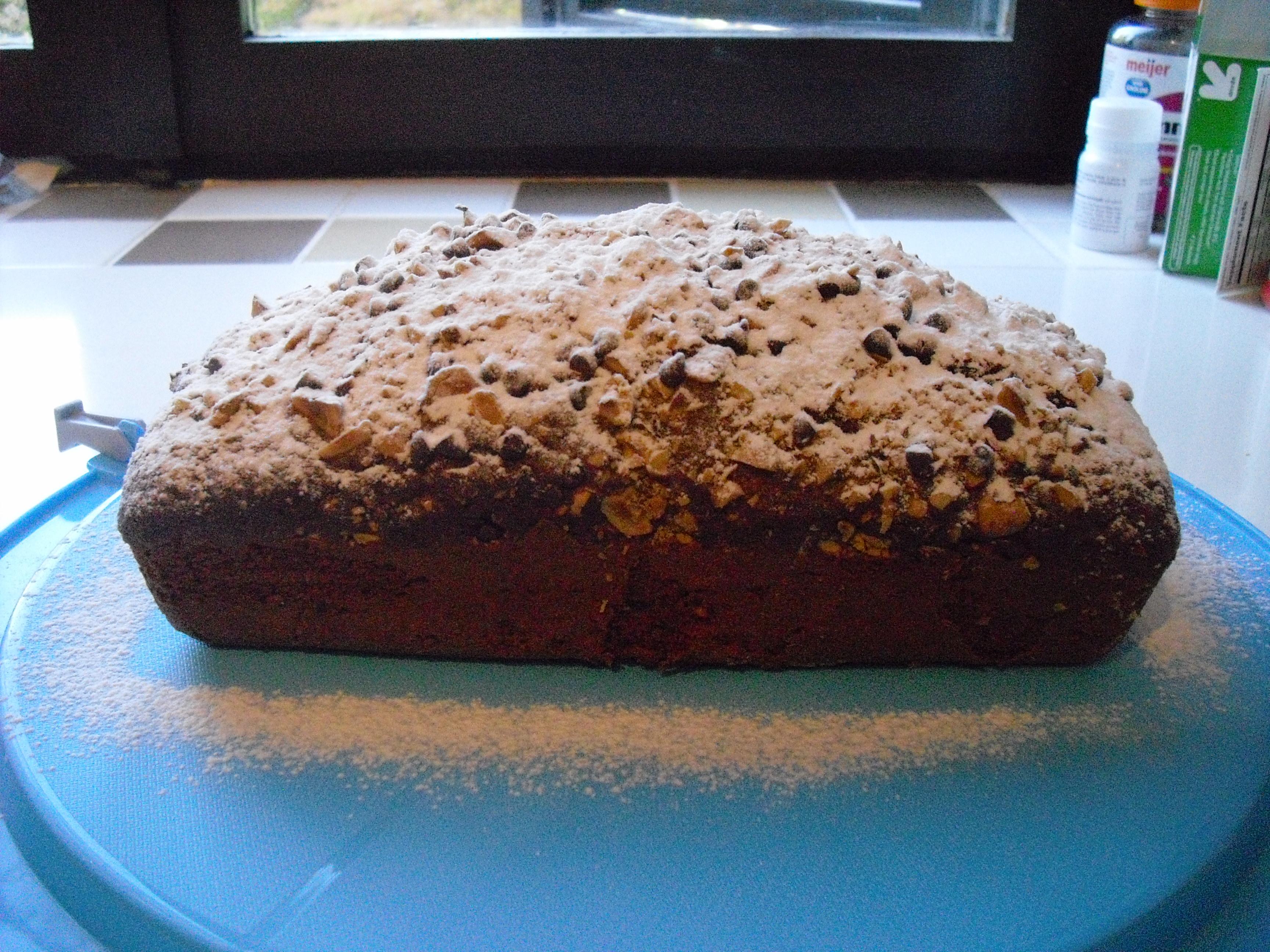 Plumcake al cioccolato e nocciole….morbidissimo!!