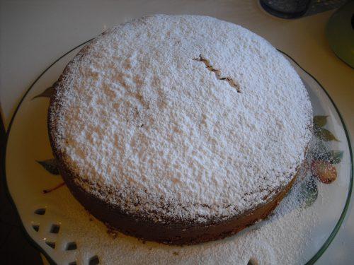 Torta chiffon con 2 uova soffice!