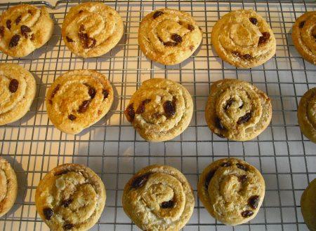 Biscotti alla ricotta con uvetta!!