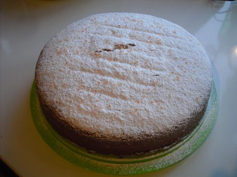 torta chiffon con 2 uova