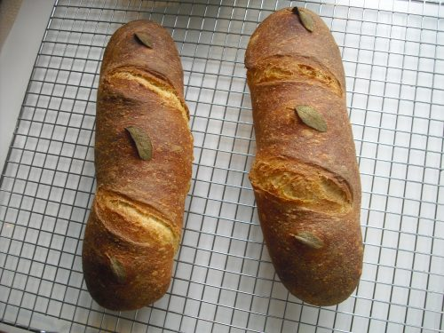 Pane croccante alle erbe…velocissimo!