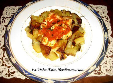 Pollo messicano con patate!!!
