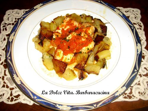 Pollo messicano con patate!!!