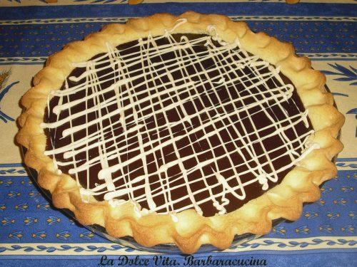 Crostata al cioccolato fondente!