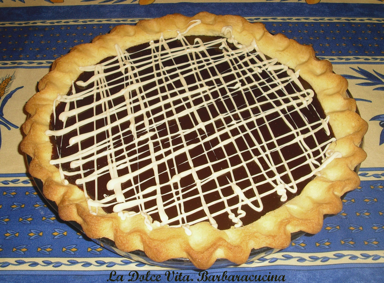 crostata al cioccolato fondente 1