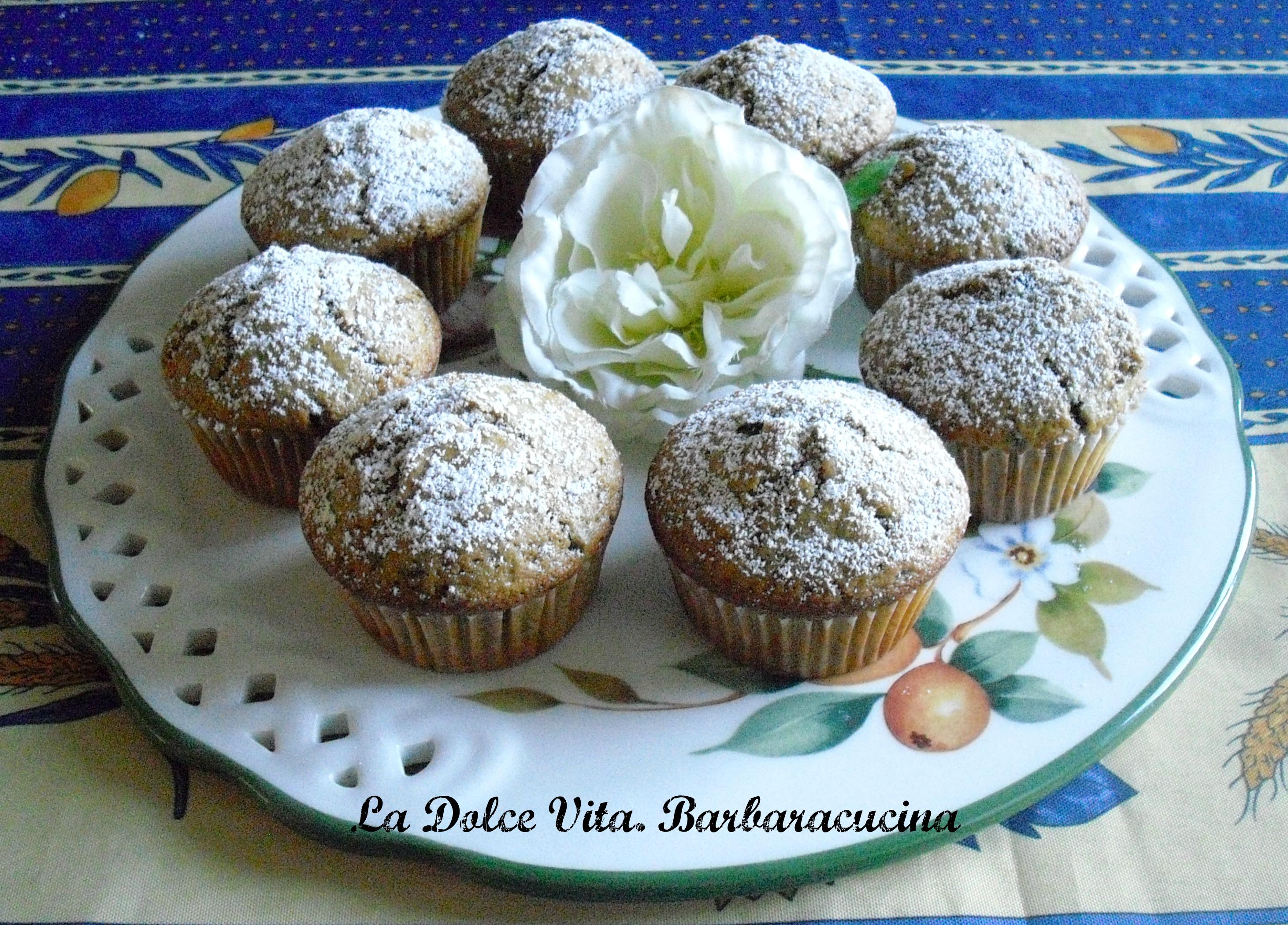 Muffins con gocce di cioccolato!