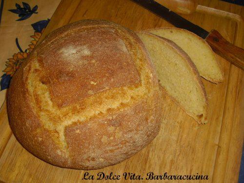 Pane con farina di mais!!