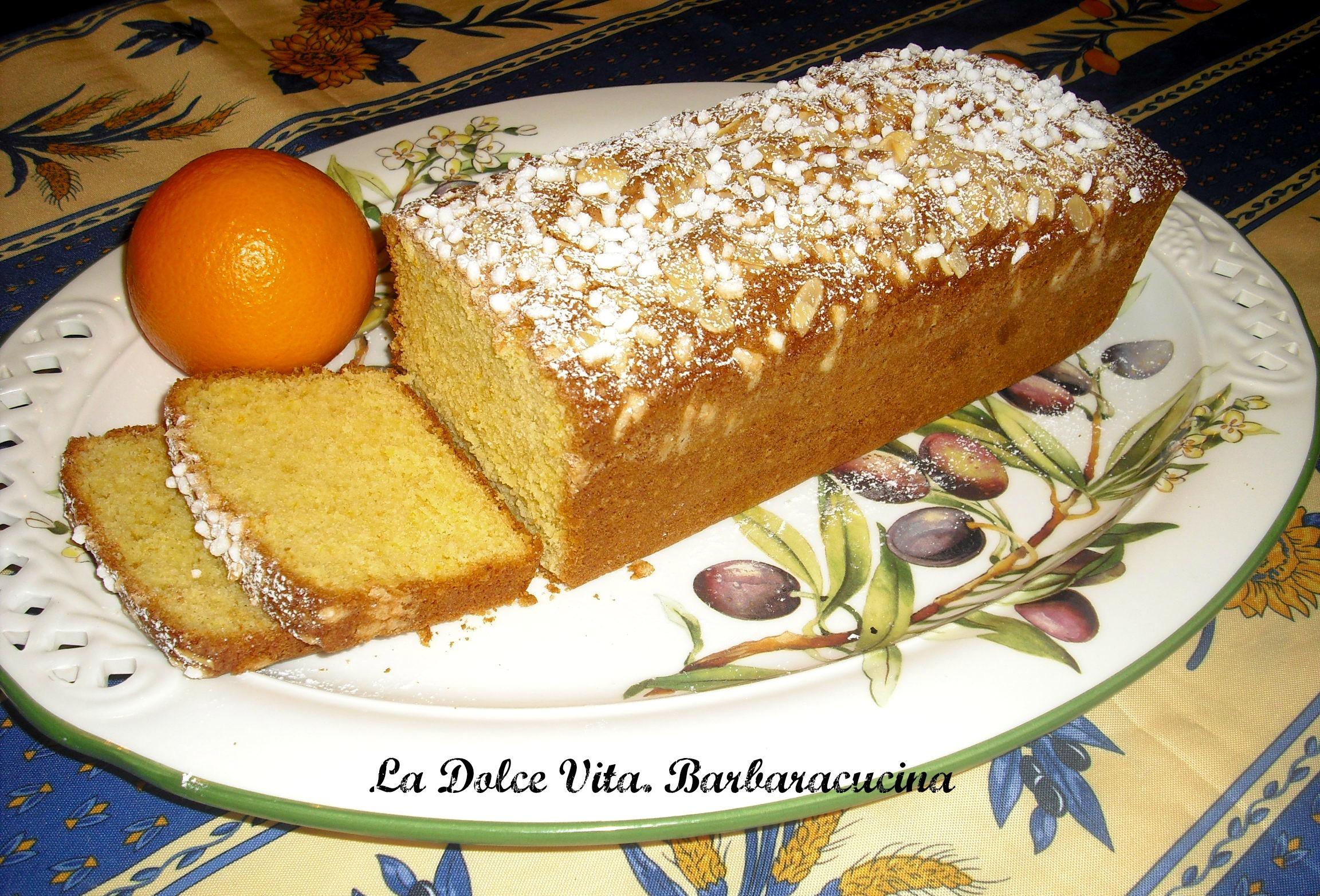 plumcake con arancia 3