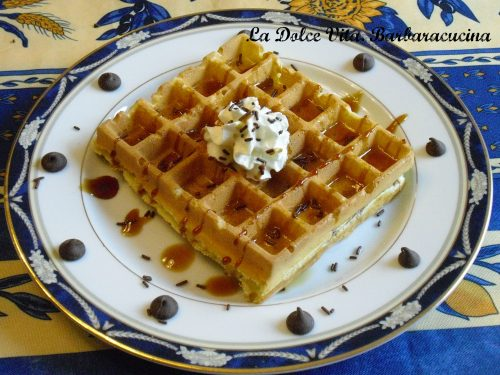 Waffles con arancia (dagli USA!)