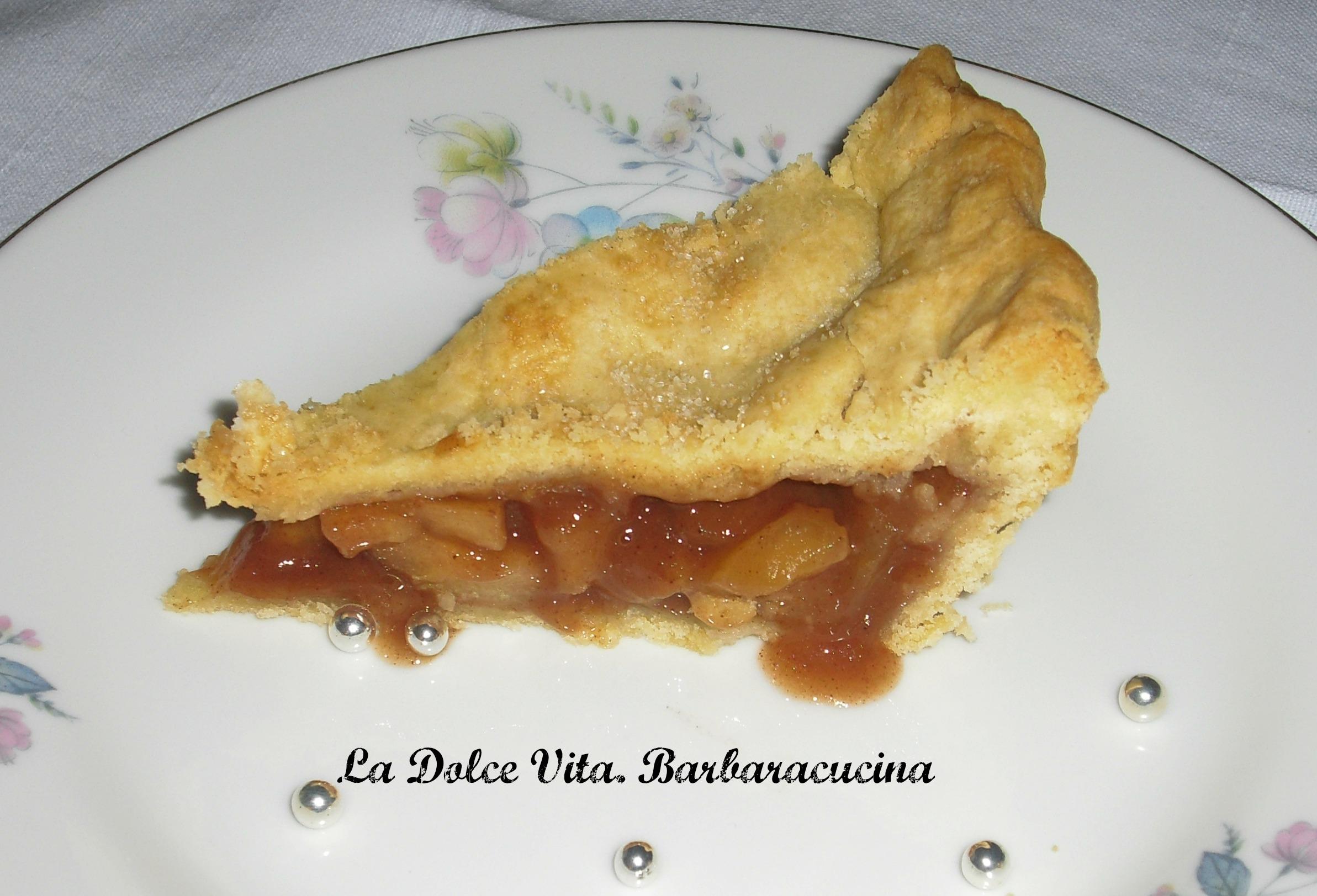 Apple pie, crostata di mele americana