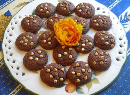 Biscotti al cioccolato red velvet!