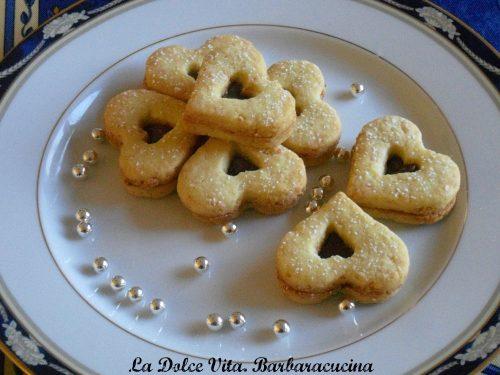 Biscotti al cocco con nutella!
