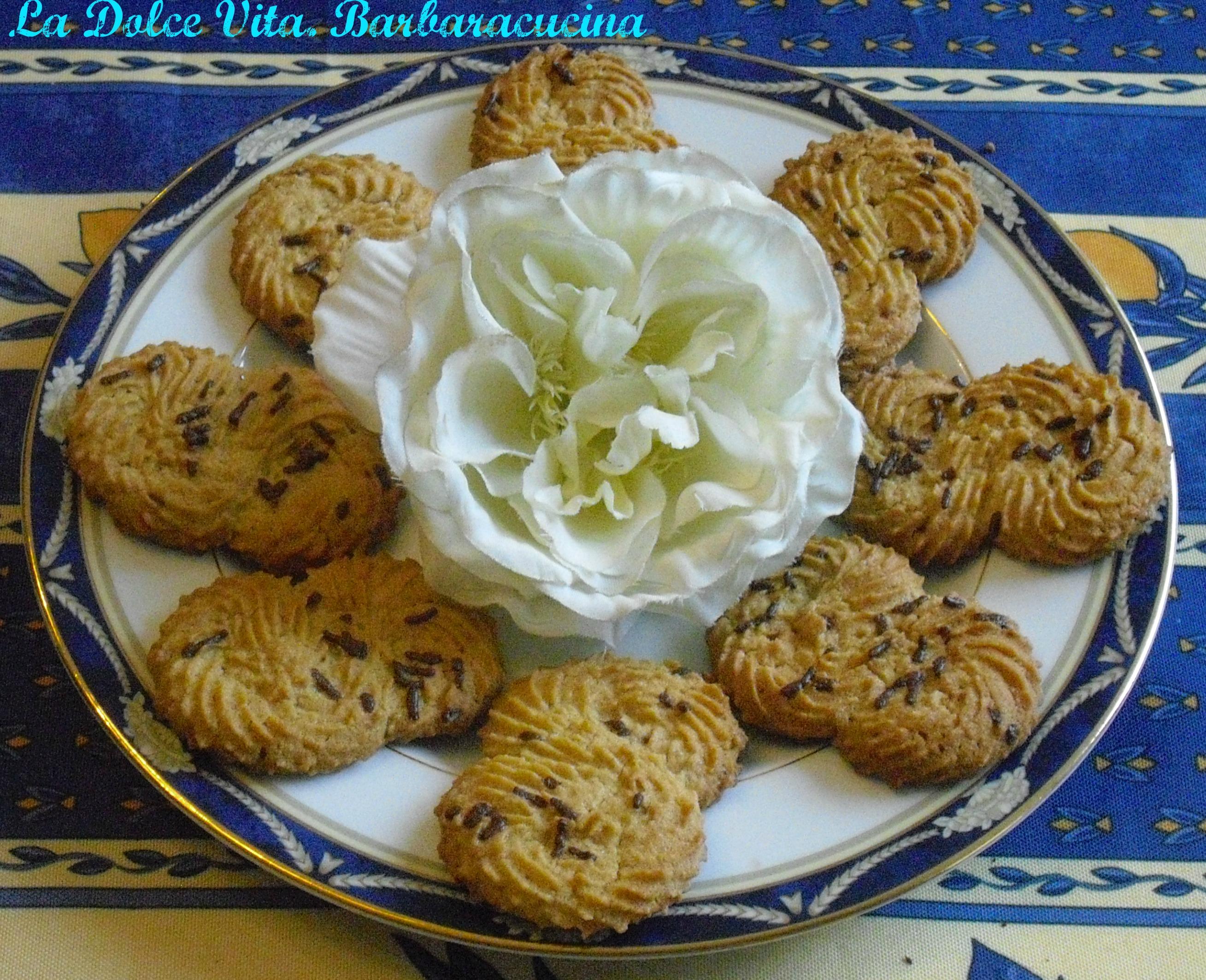 Biscotti di pasta frolla montata!