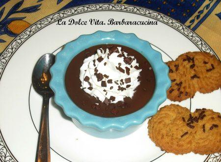 Budino al cioccolato fondente!!