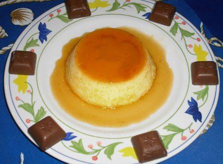 Creme caramel alla vaniglia!!