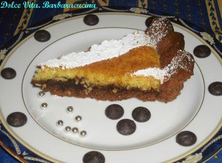 Crostata al cocco e cioccolato!!