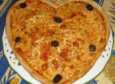 Pizza ai 4 formaggi per S. Valentino!