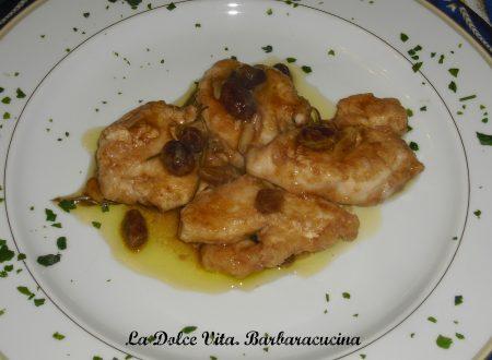 Pollo al marsala con uvetta!!